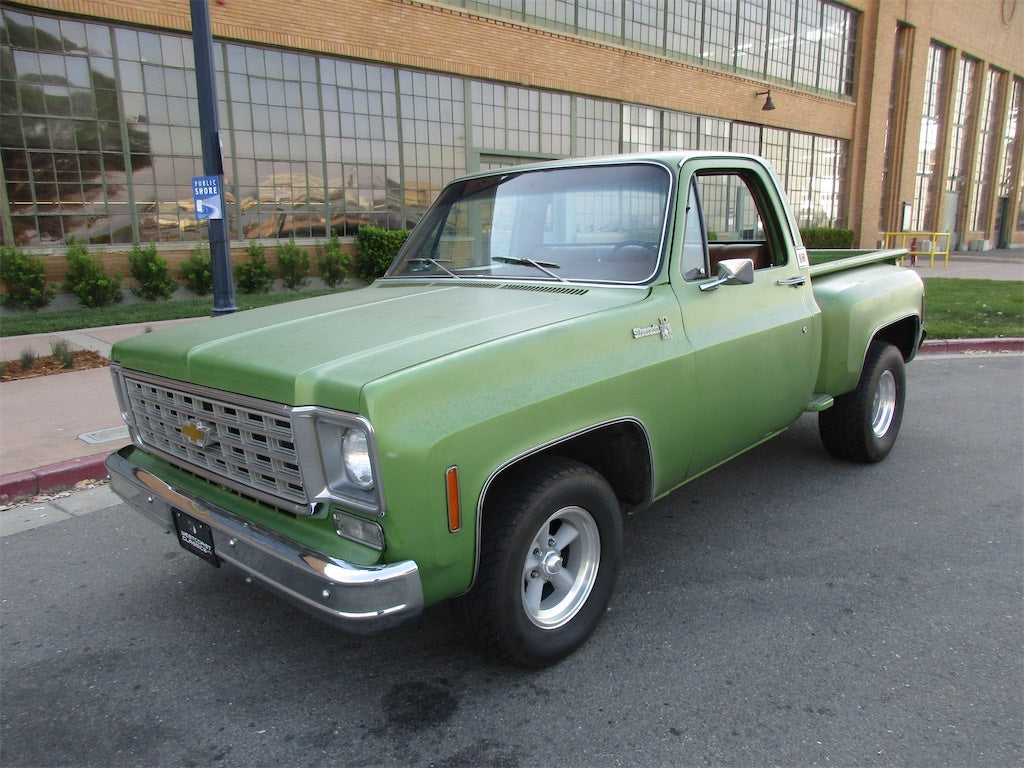 All Chevy 1976 chevy c10 : 1976 Chevy C10 Silverado SOLD – Westcoast Classic Imports