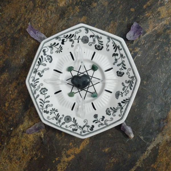 Mirage - crystal grid or charging dish
