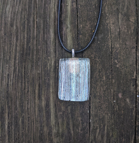 Icecicles - glass pendant