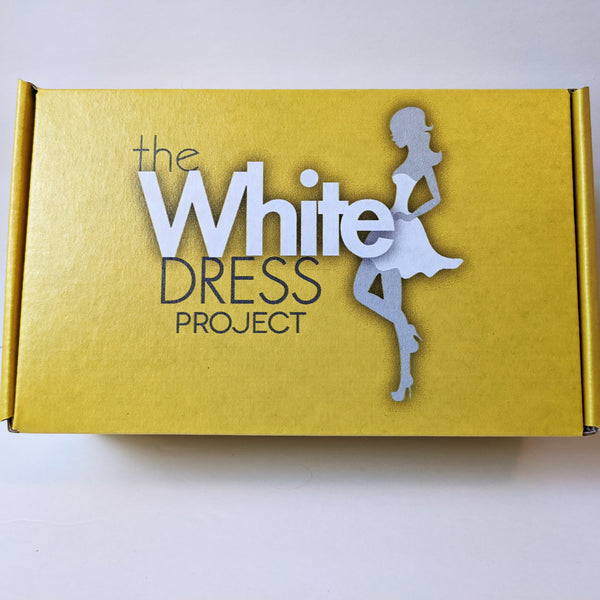 WHITE DRESS PROJECT CARE CRATE