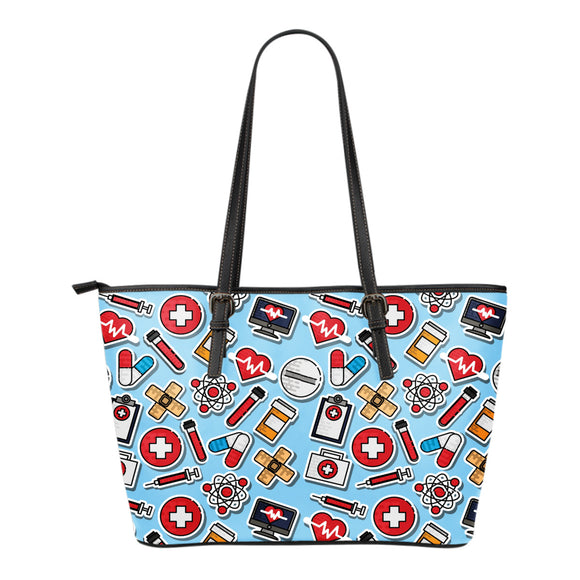 Nurse Small Vegan Leather Tote