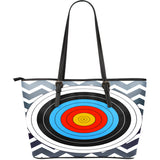 Archery Vegan Leather Tote Bags