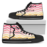 Men's and Women's Archery Canvas High Tops