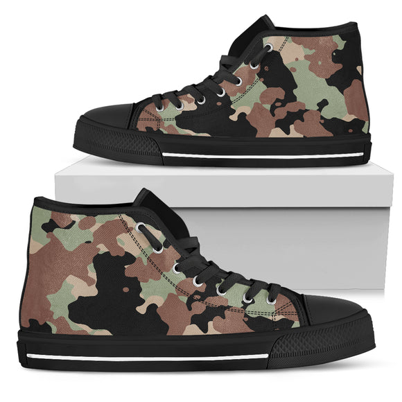 Men's Camouflage High Tops