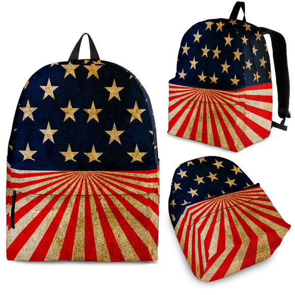 US Flag Back Pack (3 sizes)