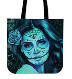 Tattoo Calavera Queen Tote Bag BW/Color FREE + Shipping & Handling