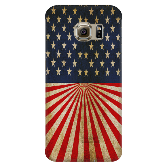 Antique American Flag Phone Covers