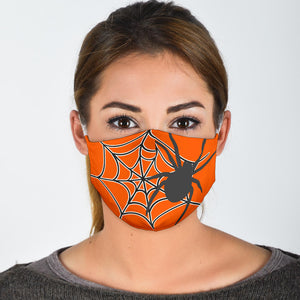 Face Accessory Halloween Spider WH