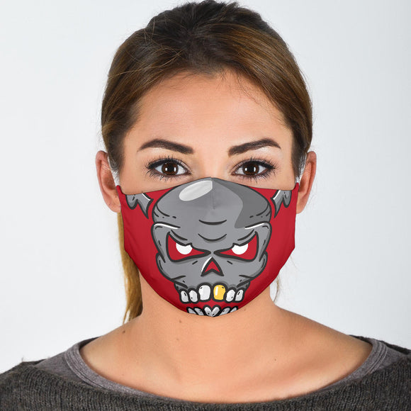 Face Accessory Halloween Skull WH