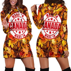 Made In Canada Women's Hoodie Dress