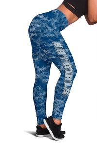Baygirl Leggings in Blue