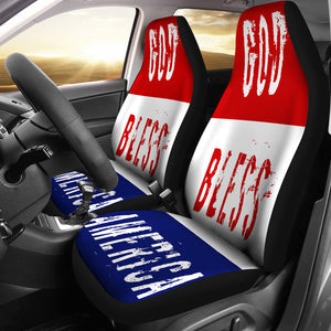 God Bless America Seat Covers