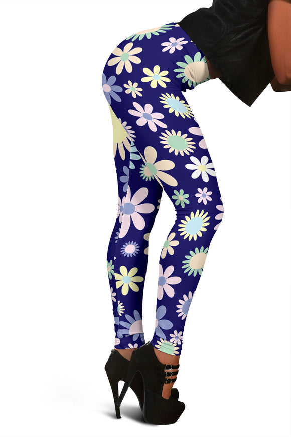 Multi-Color Flower Leggings