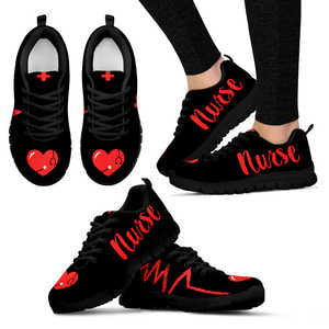 Nurse Red Heart Women's Sneakers