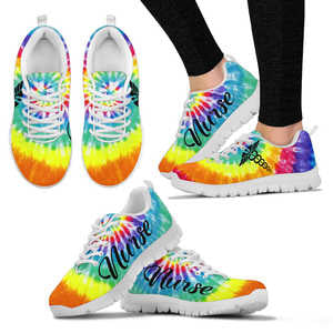 Nurse Tie-Dye Sneakers (Women's)