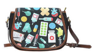 Nurse/Pharmacy Technician Style 1 Saddlebag
