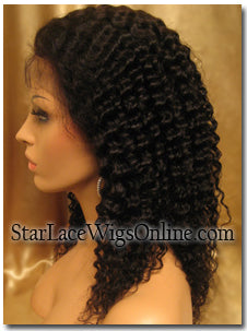 Kinky Curl Lace Wig Texture