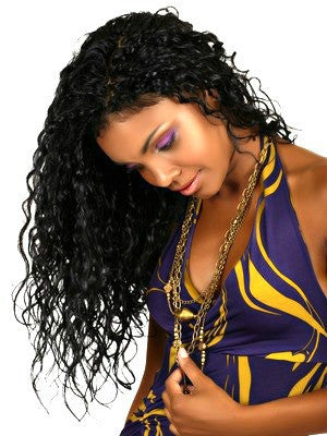 Deep Wave Brazilian Virgin Hair Weave Extensions