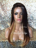 Ombre Synthetic Lace Front Wig