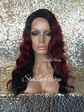Burgundy Body Wave Lace Front Wig