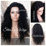 Long Wavy Curly Synthetic Lace Front Wig