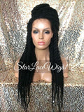 Senegalese Twist Lace African American Wigs