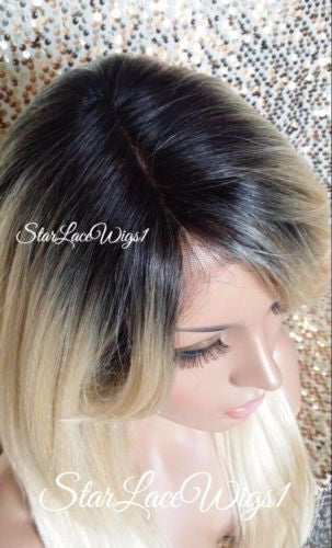 Golden Blonde Lace Front Wig