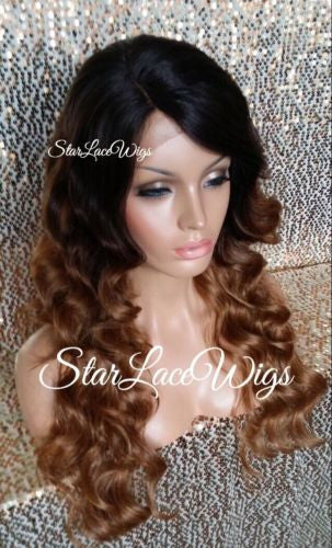 Long Curly Body Wave Lace Wigs For Women