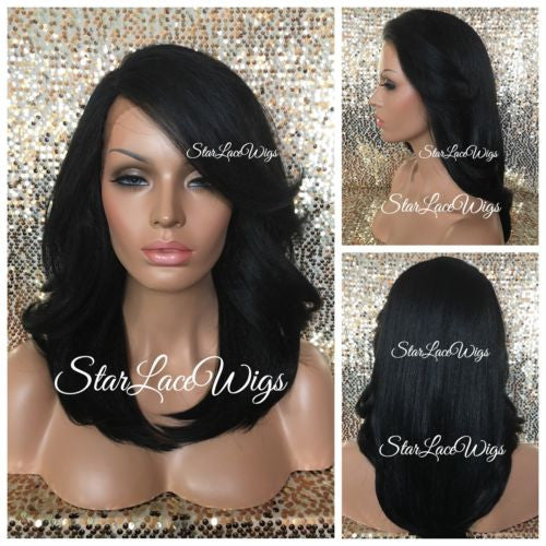 Straight Yaki Synthetic Lace Front Wig