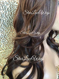 Synthetic Lace Front Wig With Side Part