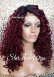 Long Curly Lace Front Wig