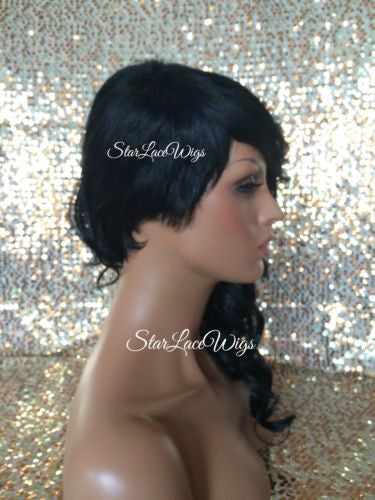 Long Curly Synthetic Wig For Sale