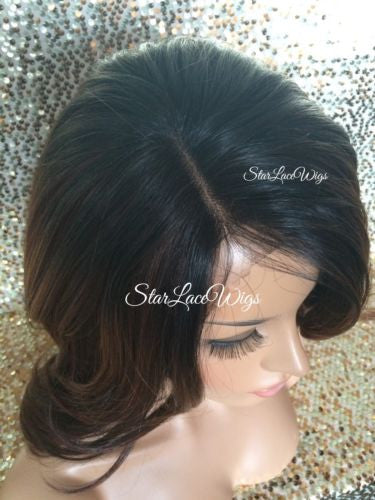 Layered Synthetic Lace Front Wig