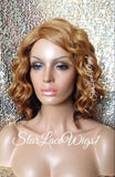 Strawberry Blonde Ombre Synthetic Bob Wig