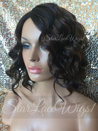Short Brown Wavy Synthetic Wig Online