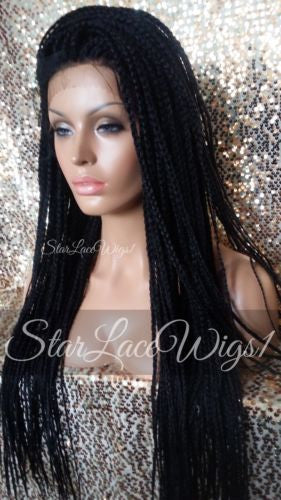 Braided Lace Front Wigs For Black Women