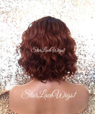 Curly Bob Lace Front Wig