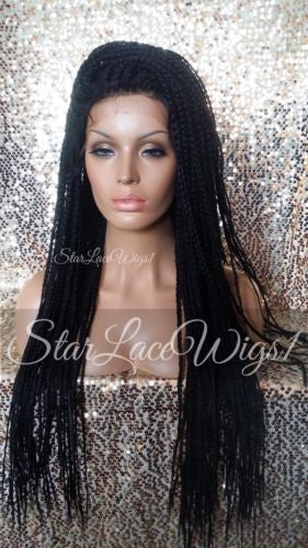Braided Synthetic Lace Wigs
