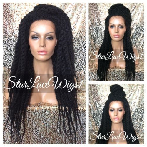 Senegalese Twist Lace Front Wig