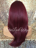 Burgundy Wigs For Women