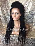 Braided Locks Synthetic Lace Front Wig