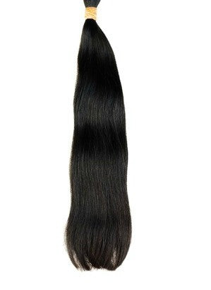 Straight Bundles of Indian Virgin Hair Weave Extensions