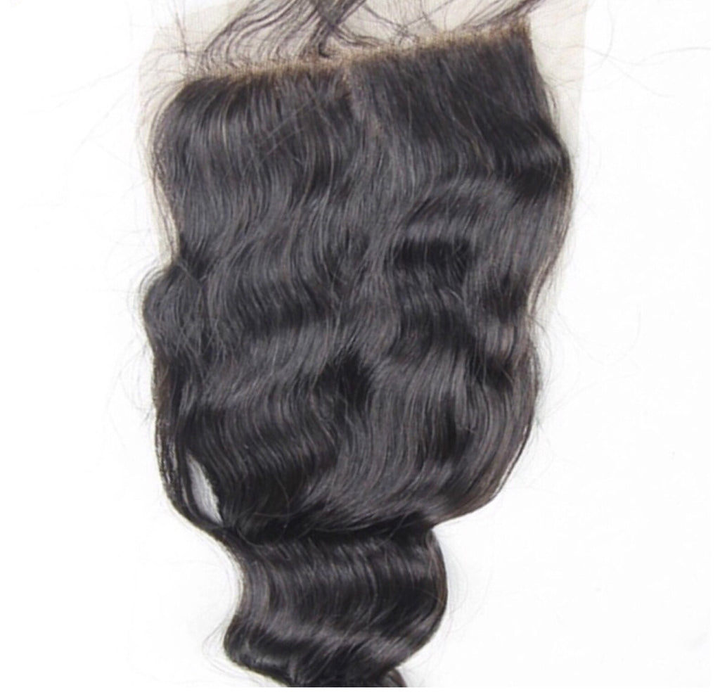 Loose Wave Virgin Hair Lace Closure