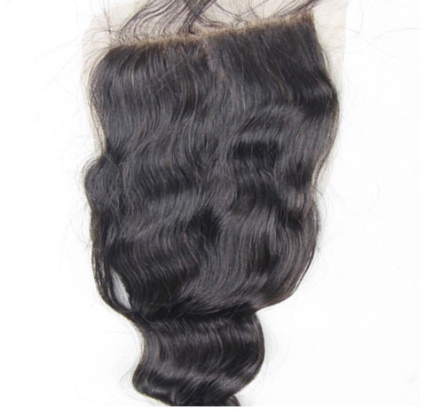 Body Wave Virgin Hair Lace Closure & Silk Closure
