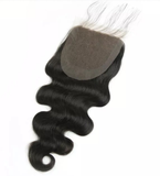 Lace Closure Silk Closure Human Hair