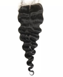 Lace Closure 100% Human Hair Loose Wave