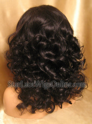 Long Human Hair Full Lace Wigs For Black Women