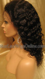 Curly Human Hair Custom Lace Front Wigs For Women