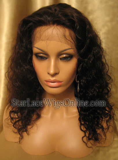Custom Full Lace Human Hair Pieces For Cheap
