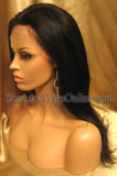 Human Virgin Hair Full Lace Wigs